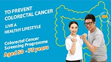 Colorectal Cancer Screening Programme (Aged 50 - 75 years)