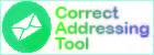 """Correct Addressing"" tool"
