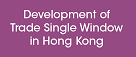 Public Consultation on the Development of Trade Single Window in Hong Kong